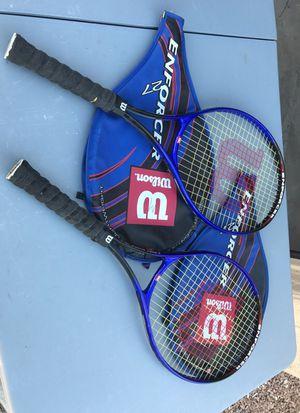 Wilson lightweight tennis rackets for Sale in Chandler, AZ