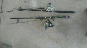 Fishing poles for Sale in Dallas, TX