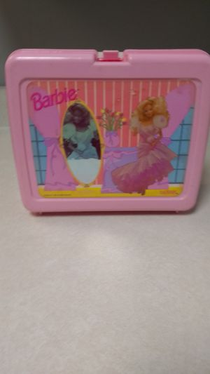 Vintage Pink Barbie Lunchbox Kit with Thermos for Sale in Nashville, TN