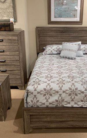 💯Millie Brown Panel Bedroom Set byCrown Mark for Sale in Glen Burnie, MD