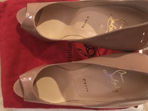 Size 39 - LUX Christian louboutin Heel's for Sale in Fairfax, VA