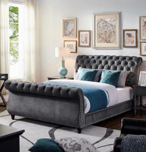 Cal king bed frame for Sale in Los Angeles, CA