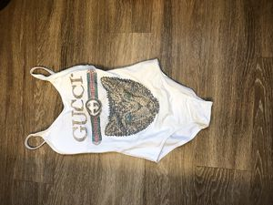 White Sequin Gucci swimsuit for Sale in Columbus, OH