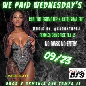 We Paid Wednesdayz for Sale in Tampa, FL