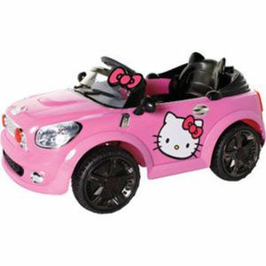 Hello Kitty Coupe 6-Volt Battery-Powered Ride-On for Sale in Orlando, FL