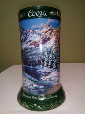 "Coors Ceramic Beer Mug""Someone Near Golden Colorado"" Collecto Stein,2004 for Sale in Lorton, VA"