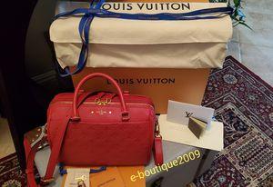AUTHENTIC LOUIS VUITTON SPEEDY BANDOULIERE 25 EMPREINTE BAG for Sale in Colton, CA