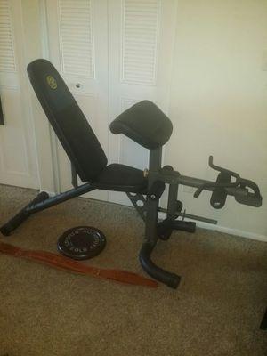 Weight bench, 50lb iron weight, weight belt for Sale in Deerfield Beach, FL