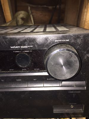 Home entertainment receiver for Sale in Dearborn Heights, MI