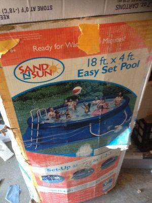 Sand n sun 18x4ft pool for Sale in Hillsboro, OR