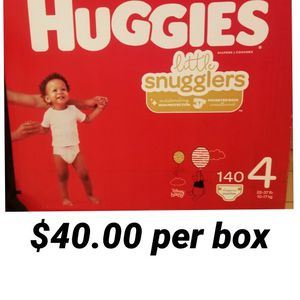 Huggies Little Snugglers Size 4 for Sale in Los Angeles, CA