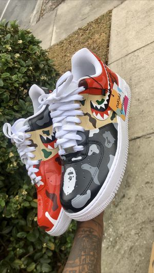 Bape customs IG ; @dakiddcustomz for Sale in Orange Park, FL