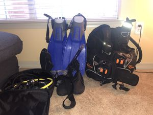 Complete TUSA Scuba Gear EVERYTHING YOU NEED for Sale in Tampa, FL