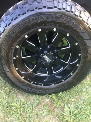 Motto truck rims for Sale in Independence, OH