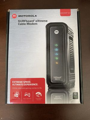 Motorola Cable Modem for Sale in McKinney, TX