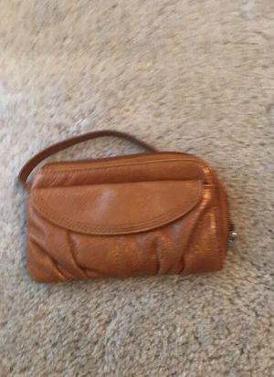 Tan leather hobo wallet for Sale in Orlando, FL