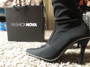 Thigh high Fashion nova boots for Sale in Stone Mountain, GA