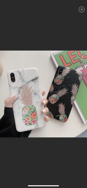 [FreeShipping][NEW] iPhone 11/Pro/Max/XR/XS/7/8/Plus Marble Pineapple case for Sale in Bellevue, WA