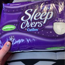 Small/medium Sized Sleep Overs Pull Ups for Sale in Lorain,  OH