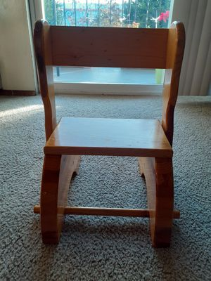 Wooden chair - kids stand helper 😊 for Sale in Everett, WA