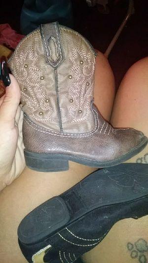 Little girl cowboy boots for Sale in Jacksonville, FL