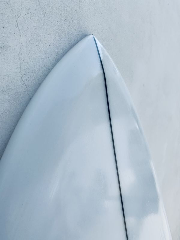 5'8 Fish Surfboard with Twin Keel Surfboard Fins