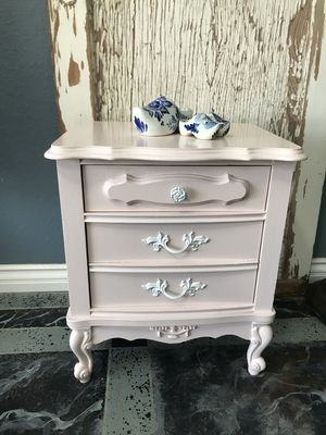 Shabby Chic French Provincial Nightstand for Sale in Victorville, CA