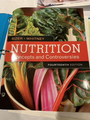 Nutrition 14th edition Sizer for Sale in Irvine, CA