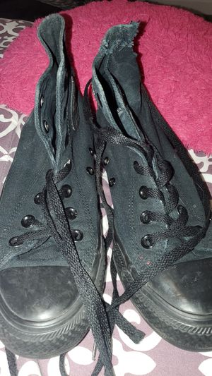 Black Converse, Size 5 men, $5 for Sale in Madison Heights, MI