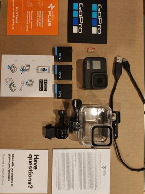 GoPro HERO 8 Black Excellent condition for Sale in Aurora, CO
