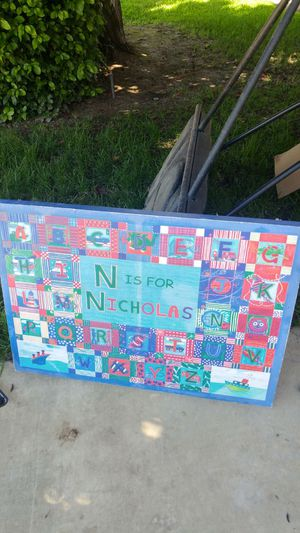 N is for Nicholas picture for Sale in Sanger, CA