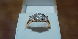 New Fashion CZ Bagguette Ring. for Sale in Pawtucket, RI