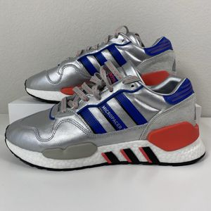 ADIDAS ZX 930 EQT SILVER METALLIC MEN'S SHOES SIZE 8 WOMEN'S 9.5 NEW for Sale in Lewisville, TX