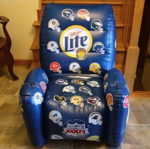 Super Bowl XXXIV 34 Full Size Inflatable Chair Miller Lite - New in Sealed Package for Sale in Huntington Beach, CA
