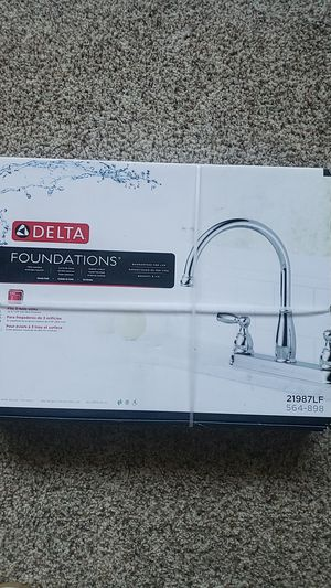 Delta foundations faucet for Sale in Oxnard, CA