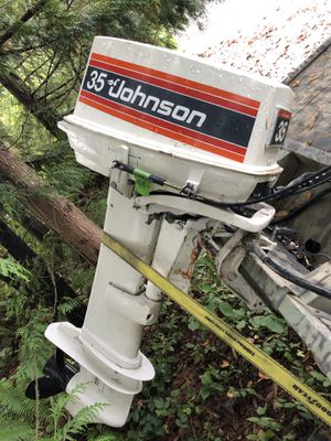 Johnson 35hp outboard motor for Sale in Snohomish, WA