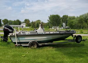 18' Kenner fishing boat at Montogomery Mo. Not in Columbia for Sale in High Hill, MO