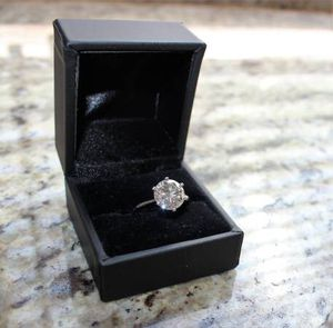3.47 CARAT TIFFANY STYLE VS1 PLATINUM DIAMOND ENGAGEMENT WEDDING RING for Sale in Vista, CA