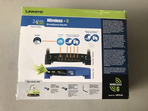 """""""LINKSYS"""" Wireless - G Broadband Router for Sale in Austin, TX"""