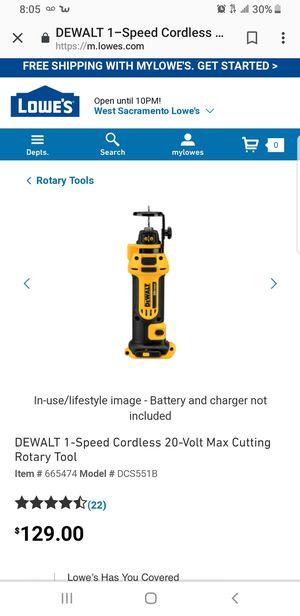 Dewalt 20v drywall cutout tool for Sale in Vallejo, CA