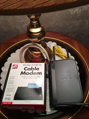 Cable Modem & Wireless Router for Sale in West Mifflin, PA