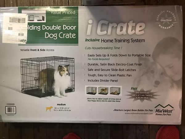 Dog crate —-brand new