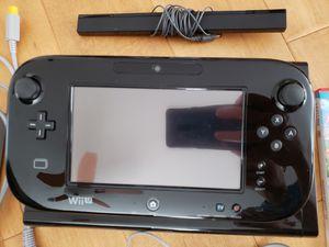Nintendo Wii U 32GB + GAMES - Mario Kart 8 Deluxe Special Edition bundle for Sale in Pleasanton, CA