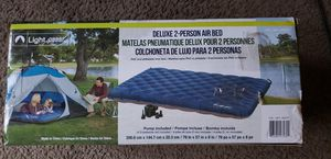 deluxe 2 person air mattress bed for Sale in Las Vegas, NV