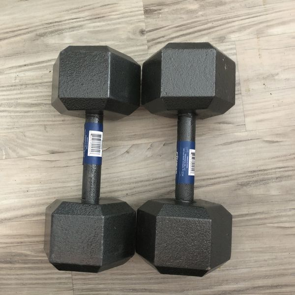 Cast Iron Hex Dumbbells (70 Pounds) *BRAND NEW*