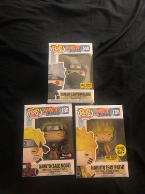 Naruto funko pops for Sale in Gardena, CA