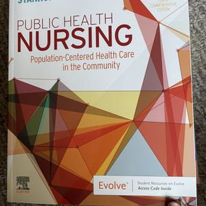 Public Health Nursing Textbook for Sale in Easton, CT