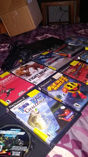 Ps2 and game bundle for Sale in Phoenix, AZ