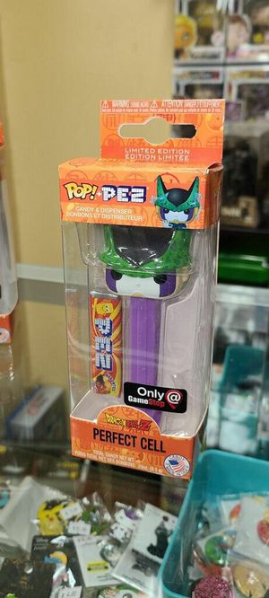 Perfect Cell- Funko POP Pez- GameStop Exclusive- DragonBall Z for Sale in Cypress, CA
