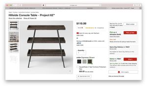 3 Tier Console Table for Sale in Bedford, TX